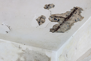 Cold surfaces and property to damage