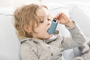 Child Asthma sufferer