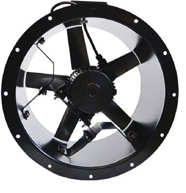 Kitchen Axial Fan 500mm dia, Single phase   Vent-Axia