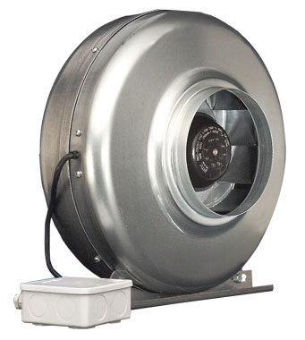 Airtrak in line centrifugal fans ach vent axia for In line centrifugal bathroom fan