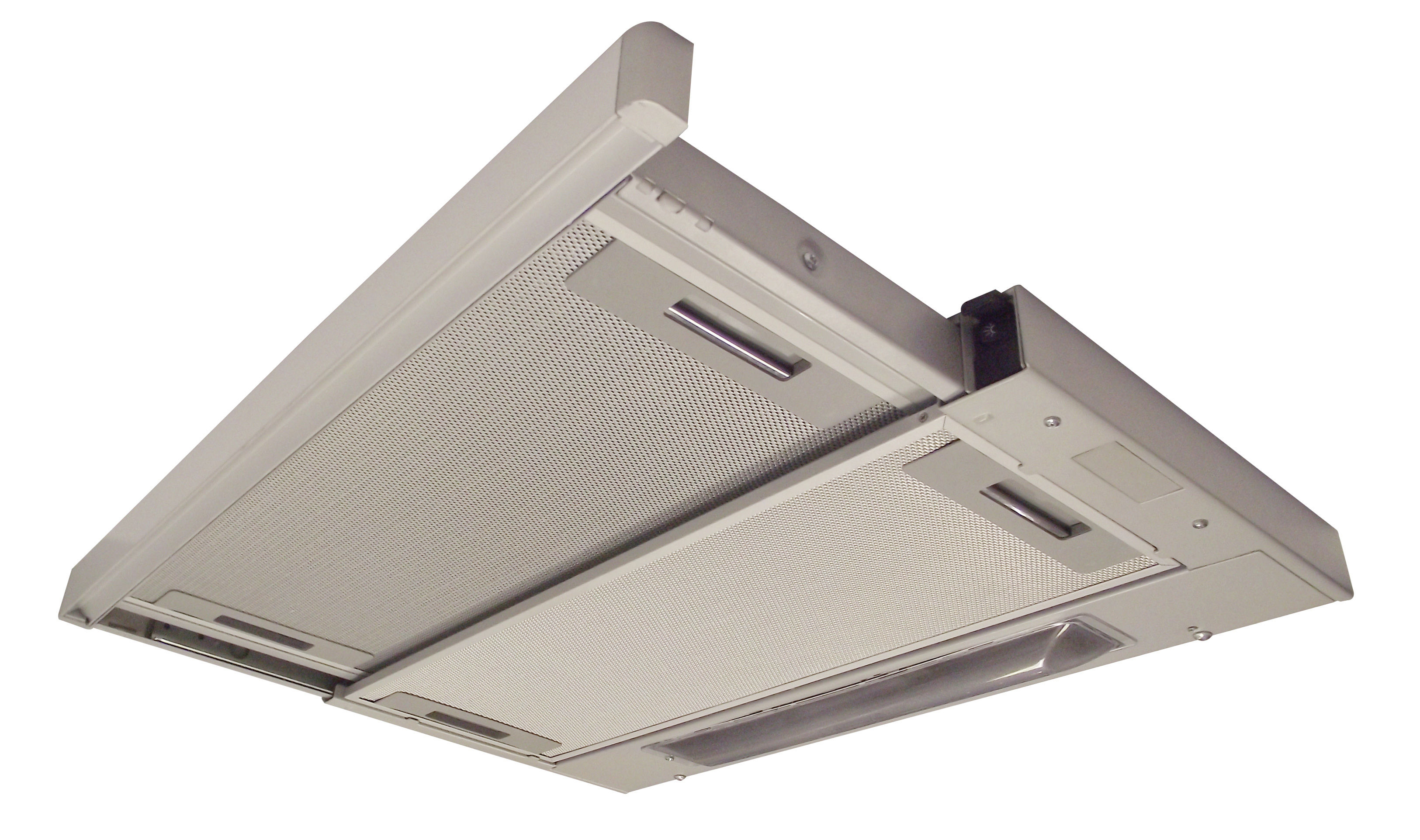 Visor hood extractor fan 3 inch buffer